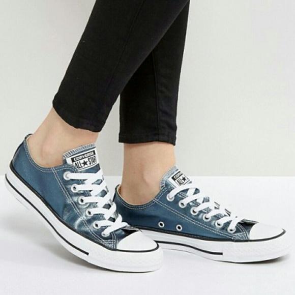 2converse metallic blue